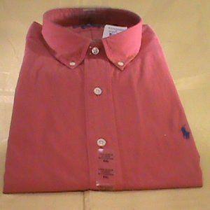 NWT Ralph Lauren XXL Burnt Orange Shirt